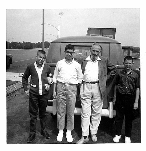 Freeport NY'ers Enroute to Dry Kye, 1961